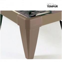 Patas de diseño de 25cm TEMPUR STATIC Y MATIC